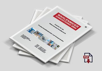 "WAHLENMEIER CATALOGUE - D ""Accessories for resistance welding technology"""